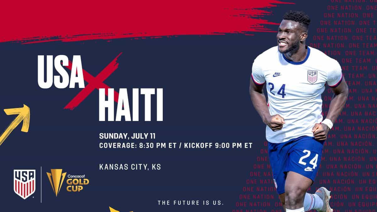 Where to find USA vs. Haiti on US TV and streaming - World Soccer Talk