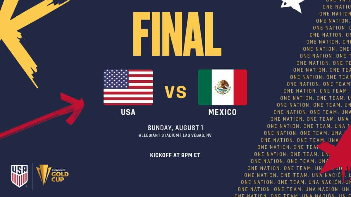 Where to find USA vs. Mexico on US TV and streaming: Gold Cup Final - World Soccer Talk