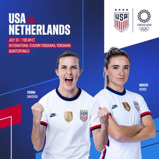 Where to find USA vs. Netherlands on US TV and streaming