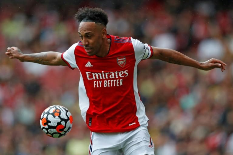 Image Aubameyang treble lifts Arsenal gloom in League Cup